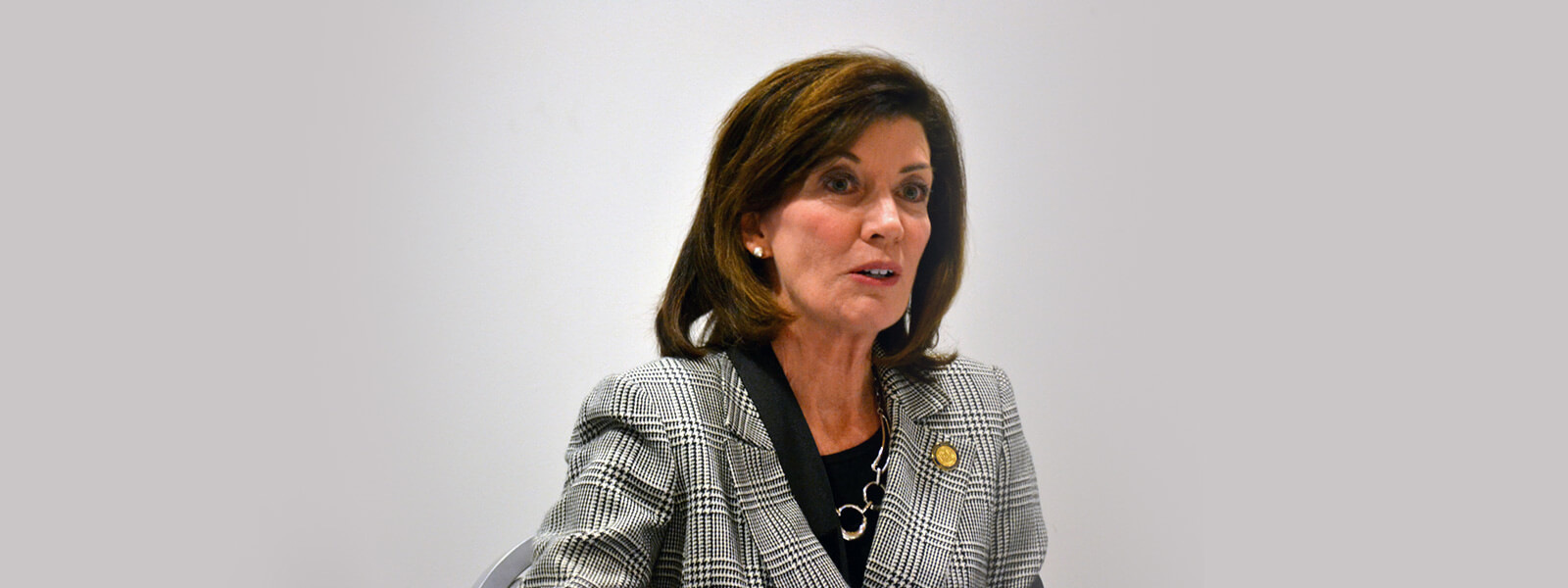 New York State Lieutenant Governor Kathy Hochul Addressed CACCI
