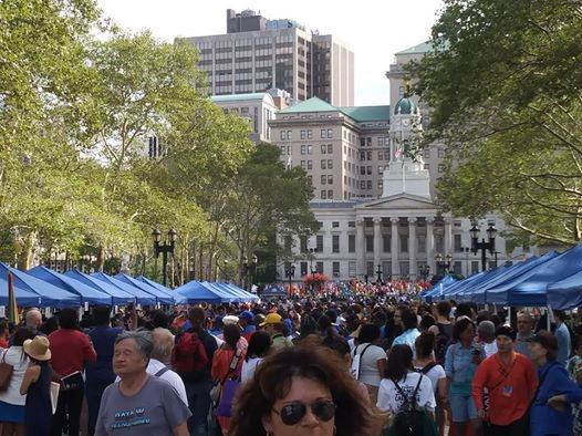 Thousands attended Brooklyn Borough President Eric L. Adams 4TH ANNUAL INTERNATIONAL DAY OF FRIENDSHIP CELEBRATION