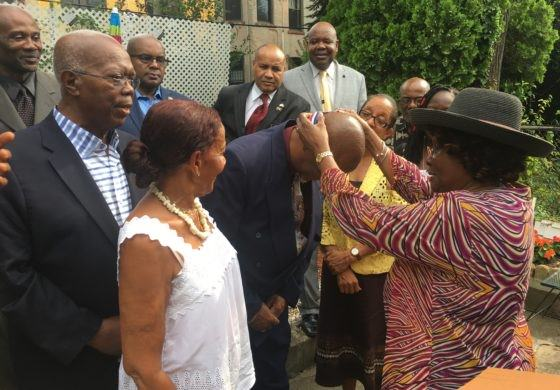 Castries St. Lucia Mayor Peterson Francis honored in New York by CACCI