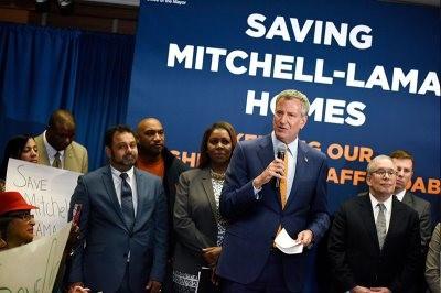 Mayor de Blasio Announces New Program to Save City's Remaining Affordable Mitchell-Lama Developments