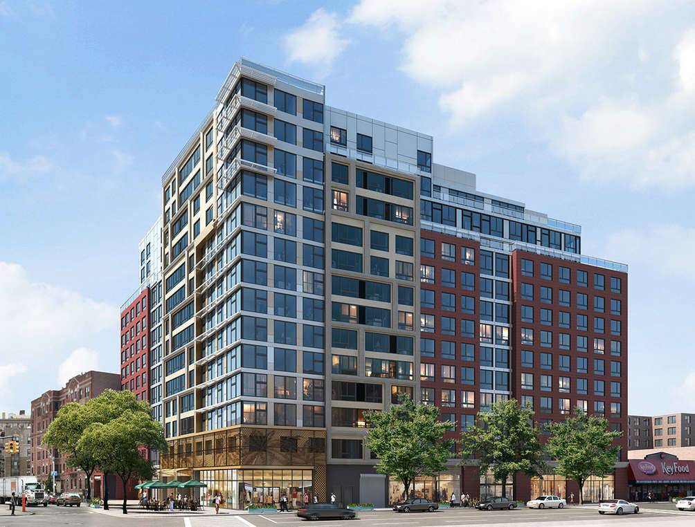 NYCEDC, HPD, HDC, BRP Companies and project partners broke ground on Caton Flats, a mixed-use development